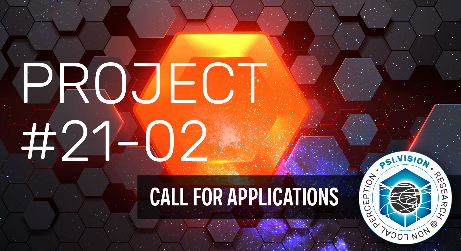 PSI.vision | call for applications project #21-02