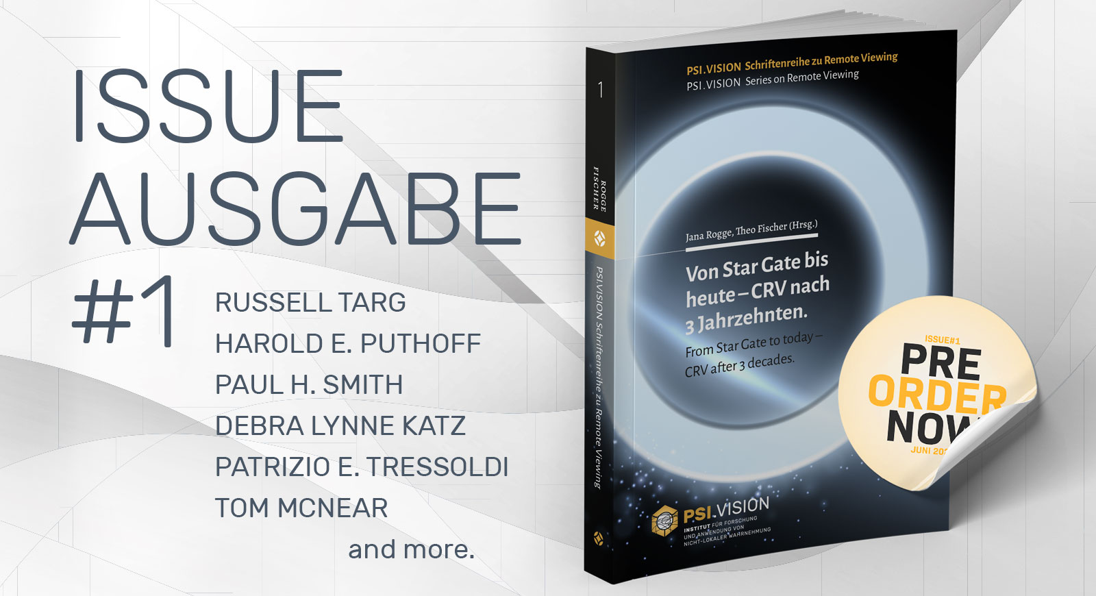 PSI.vision | Von Stargate bis heute | CRV nach 3 Jahrzehnten